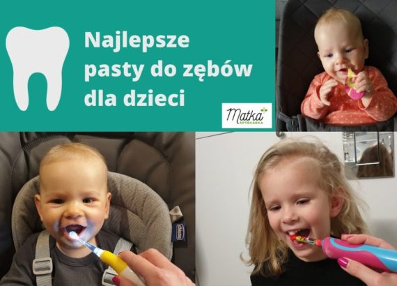 Pasty do zębów dla dzieci, pasty z fluorem, Matka Aptekarka