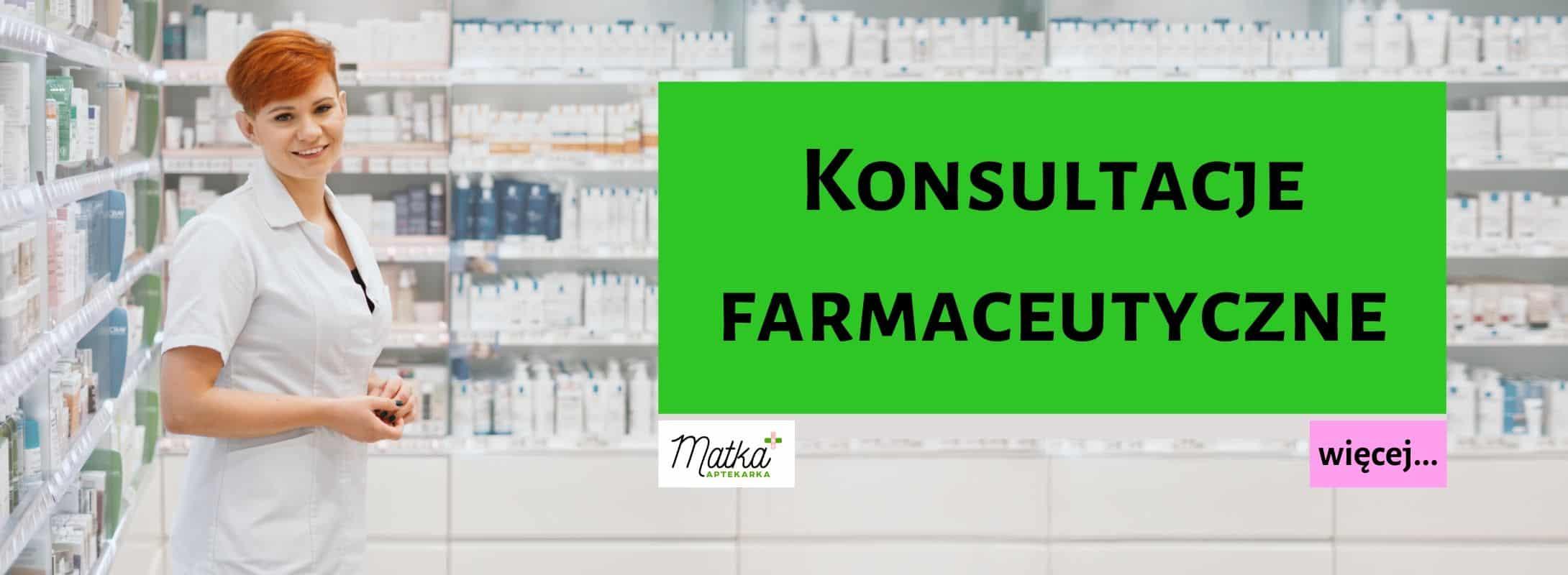 Konsultacje farmaceutyczne Matka Aptekarka