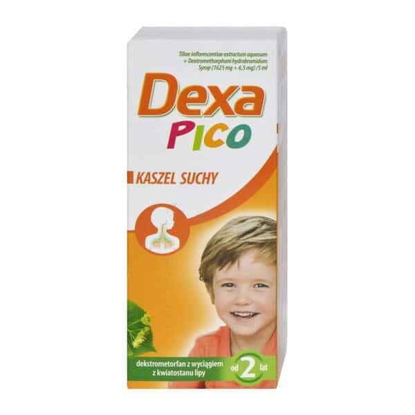 DexaPico dla dzieci, syrop przeciwkaszlowy, nasuchy kaszel, Matka Aptekarka