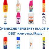 Chemiczne repelenty dla dzieci. Analiza preparatów odstraszających komary, kleszcze i inne latające insekty. Część 2. Matka Aptekarka