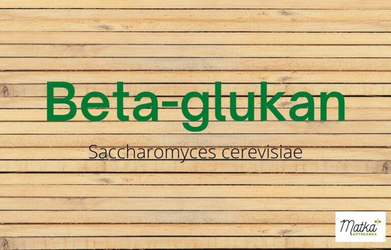 Beat glukan, drożdże, Saccharomyces cerevisiae, na odporność Matka Aptekarka