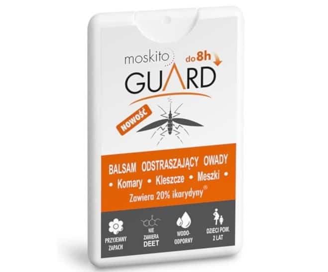 Moskito Guard, Travel Pack, balsam odstraszający owady komary, kleszcze, meszki, bezDEET, 18 ml, Matka Aptekarka