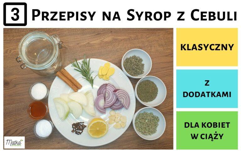 3 przepisy Matki Aptekarki jak zrobić domowy syrop z cebuli Klasyczny, z dodatkami i bezpieczny dla kobiet w ciąży, Matka Aptekarka