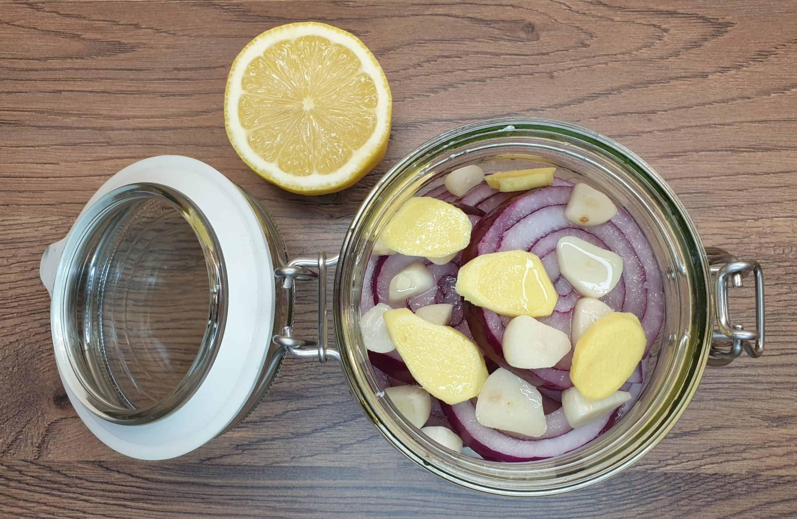 5. sok zcytryny, syrop zcebuli zdodatkami, Matka Aptekarka