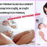 Witaminy prenatalne dla kobiet planujących ciążę, w ciąży i karmiących piersią, Najnowsze wytyczne 2020, Matka Aptekarka