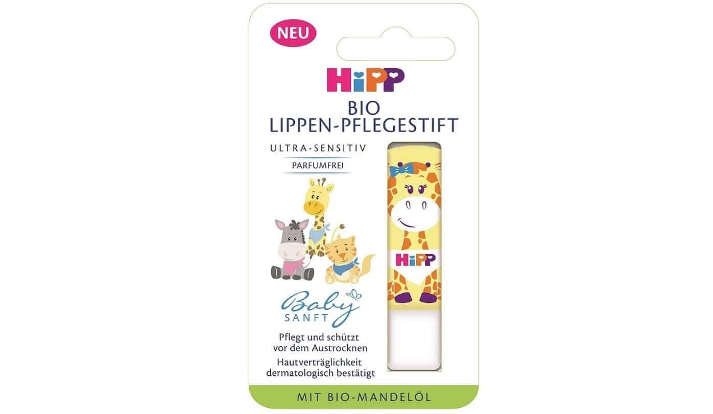 HiPP BabySanft, pomadka doust Bio, żyrafka, Matka Aptekarka