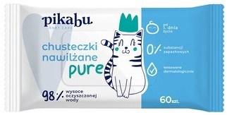 Pikabu Baby Care, chusteczki nawilżane Pure, Matka Aptekarka