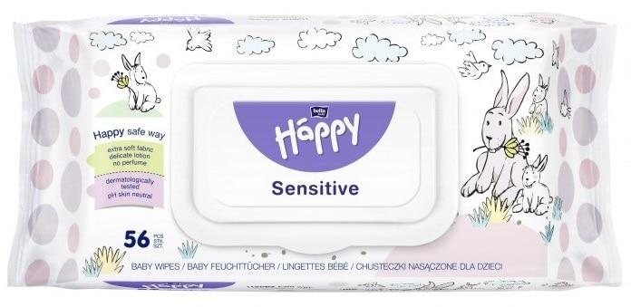 Bella Baby Happy Sensitive, chusteczki nawilżane, Matka Aptekarka