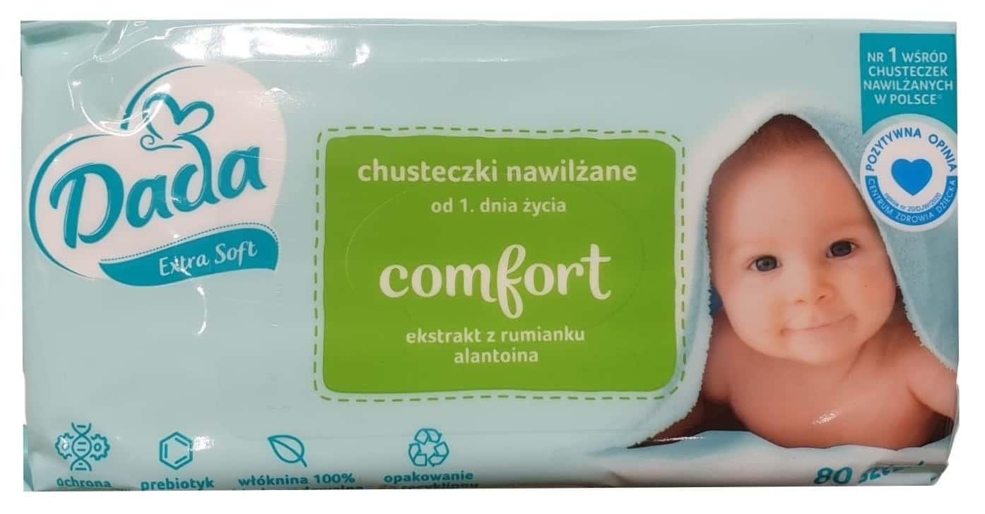 Dada Comfort, chusteczki nawilżane, Matka Aptekarka