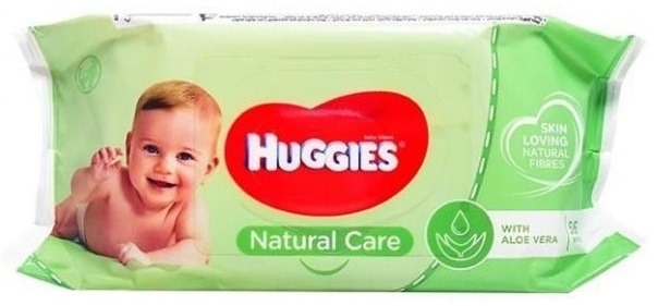 HUGGIES NATURAL CARE, chusteczki nawilżane, Matka Aptekarka