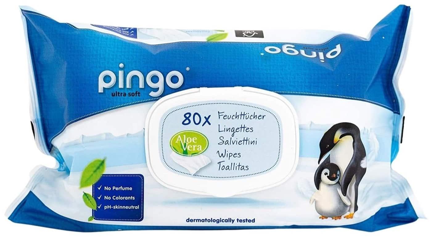 Pingo ultra soft, chusteczki nawilżane, Matka Aptekarka