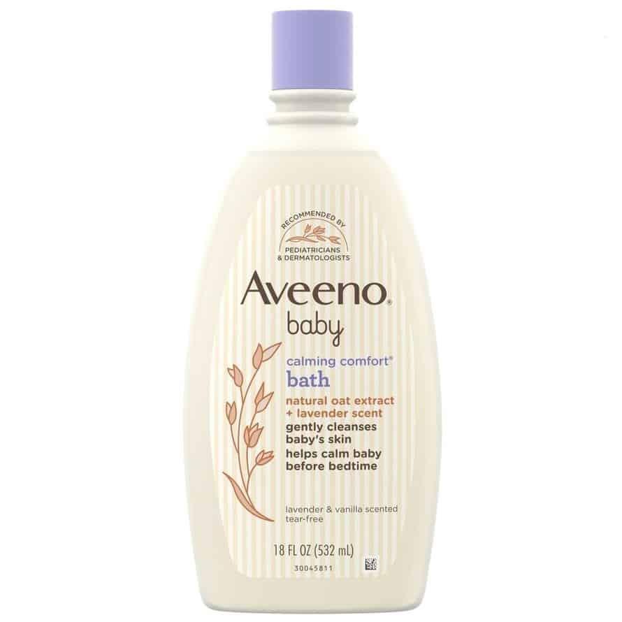 Aveeno Baby, Calming Comfort Bath, płyn dokąpieli nadobranoc, Matka Aptekarka