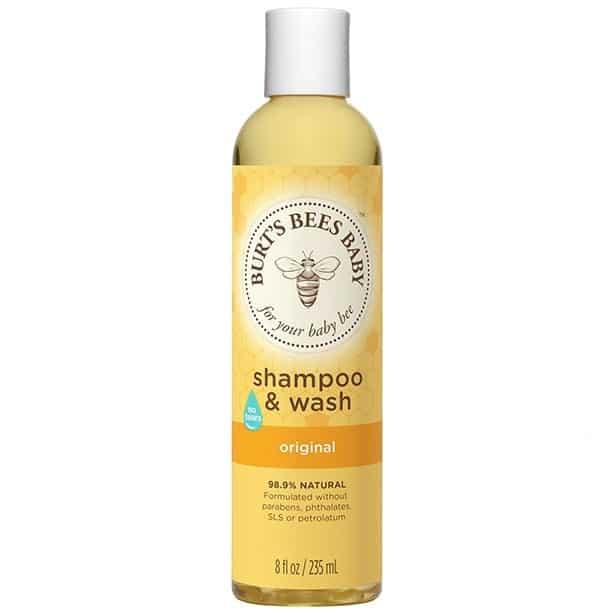 Burt's Bees, Baby Bee, szampon iżel domycia, Matka Aptekarka