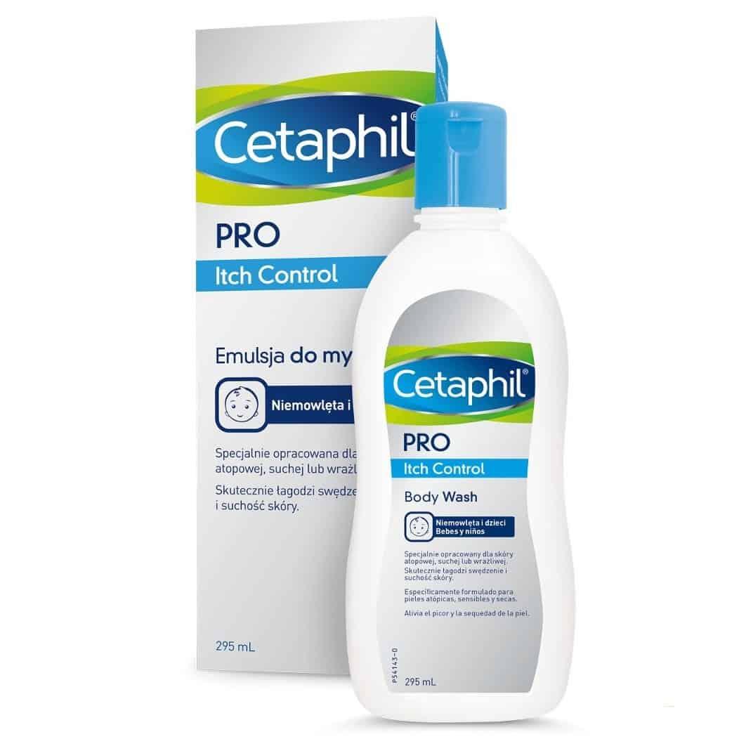 Cetaphil PRO Itch Control, emulsja domycia, Matka Aptekarka