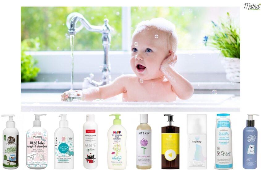 Kosmetyki domycia ikąpieli dla dzieci, naco dzień, Matka Aptekarka
