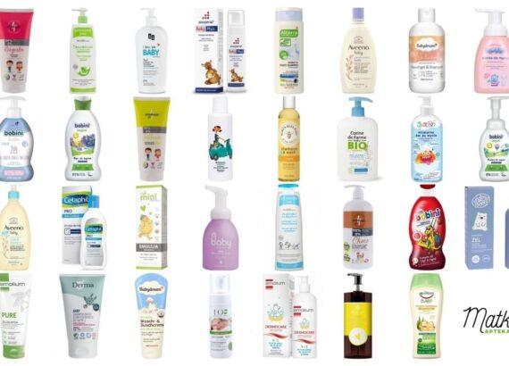 Kosmetyki do mycia i kąpieli dla dzieci, na co dzień, część 2, A-E, Matka Aptekarka