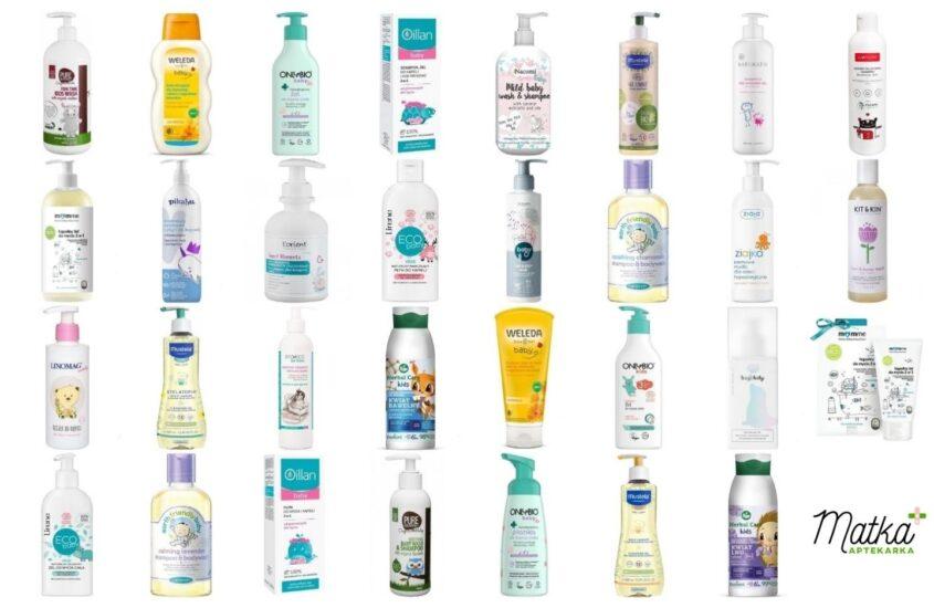 Kosmetyki domycia ikąpieli dla dzieci, naco dzień, część 3, H-Z, Matka Aptekarka