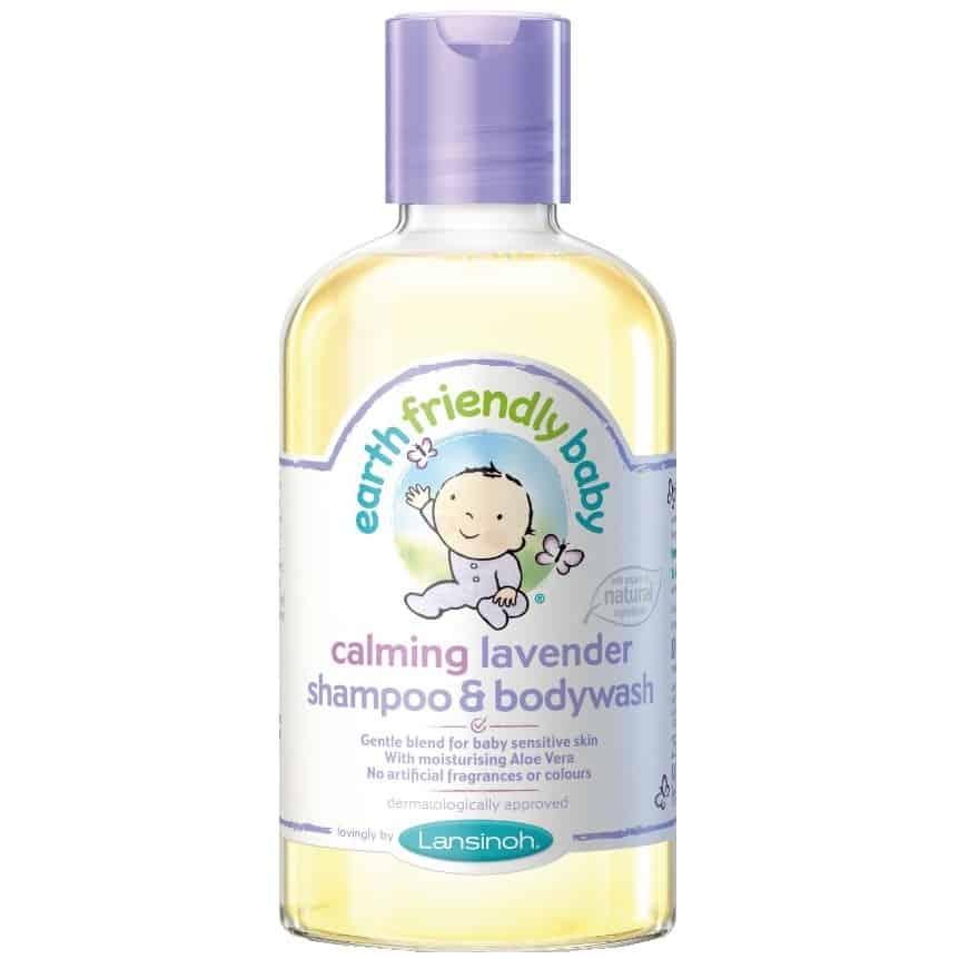 Lansinoh, Earth Friendly Baby, organiczny szampon ipłyn domycia ozapachu lawendy, 2w1, Matka Aptekarka