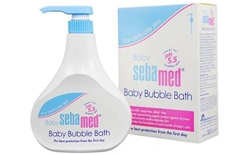 SebaMed Baby, Bubble Bath, piana dokąpieli, Matka Aptekarka —kopia