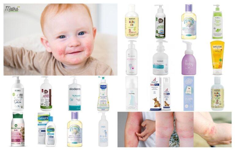 Kosmetyki do mycia i kąpieli dla dzieci ze skórą atopową, wrażliwą i skłonną do alergii, Matka Aptekarka