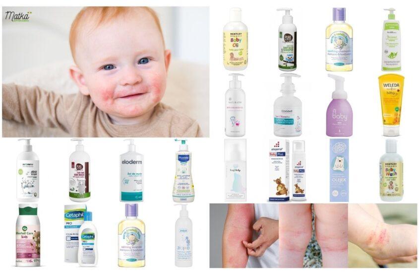 Kosmetyki domycia ikąpieli dla dzieci zeskórą atopową, wrażliwą iskłonną doalergii, Matka Aptekarka