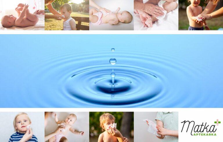 WaterWipes chusteczki nawilżane, Matka Aptekarka