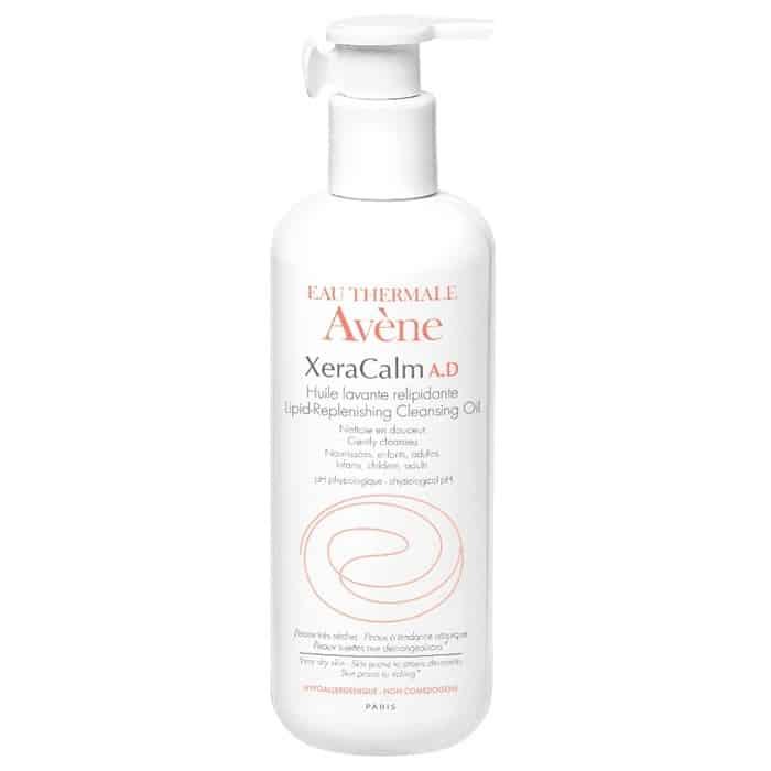 Avene Eau Thermale XeraCalm A.D, olejek oczyszczający, uzupełniający lipidy, Matka Aptekarka