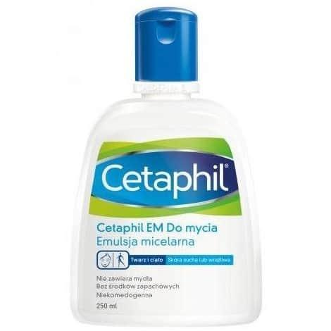Cetaphil EM, emulsja micelarna domycia 250 ml, Matka Aptekarka