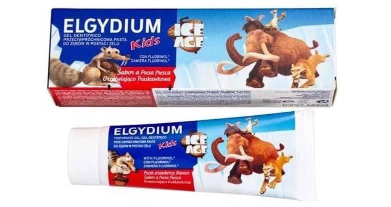 Elgydium Kids, Ice Age, pasta dozębów dla dzieci 3-6 lat, zfluorem 1000 ppm, Matka Aptekarka