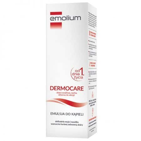 Emolium Dermocare, emulsja dokąpieli od1. dnia życia 400 ml, Matka Aptekarka