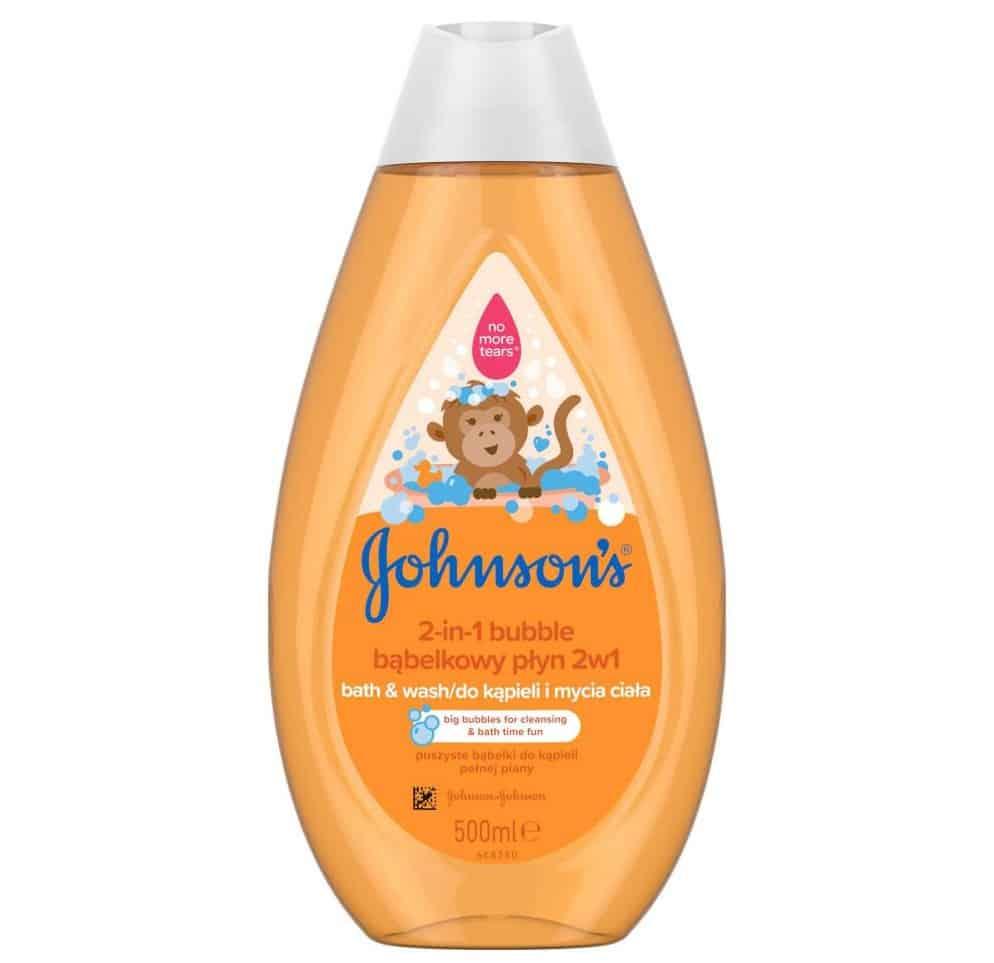 Johnson's Baby, bąbelkowy płyn dokąpieli imycia ciała, 2w1 (pomarańczowy), Matka Aptekarka