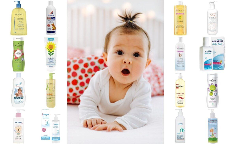 """Kosmetyki domycia ikąpieli dla małych istarszych dzieci typu """"pół napół""""."""