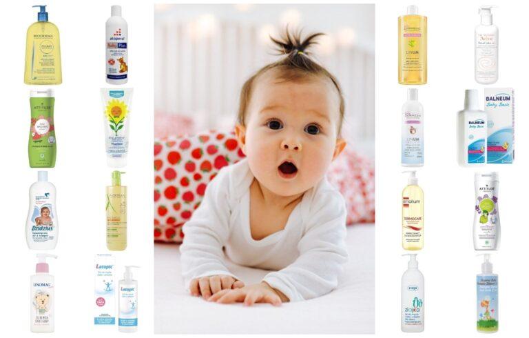 Kosmetyki do mycia i kąpieli dla małych i starszych dzieci typu pół na pół, Matka Aptekarka blog