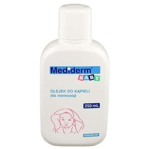 Mediderm Baby, olejek dokapieli dla niemowląt, Matka Aptekarka
