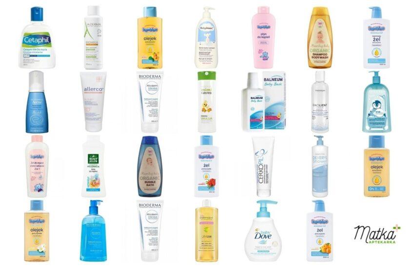 Największe rozczarowania wśród kosmetyków domycia ikąpieli dla małych istarszych dzieci [A-D], Matka Aptekarka, blog