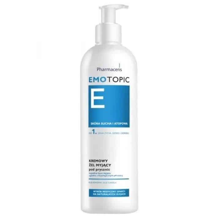 Pharmaceris E Emotopic, kremowy żel myjący podprysznic, skóra sucha iAZS, Matka Aptekarka