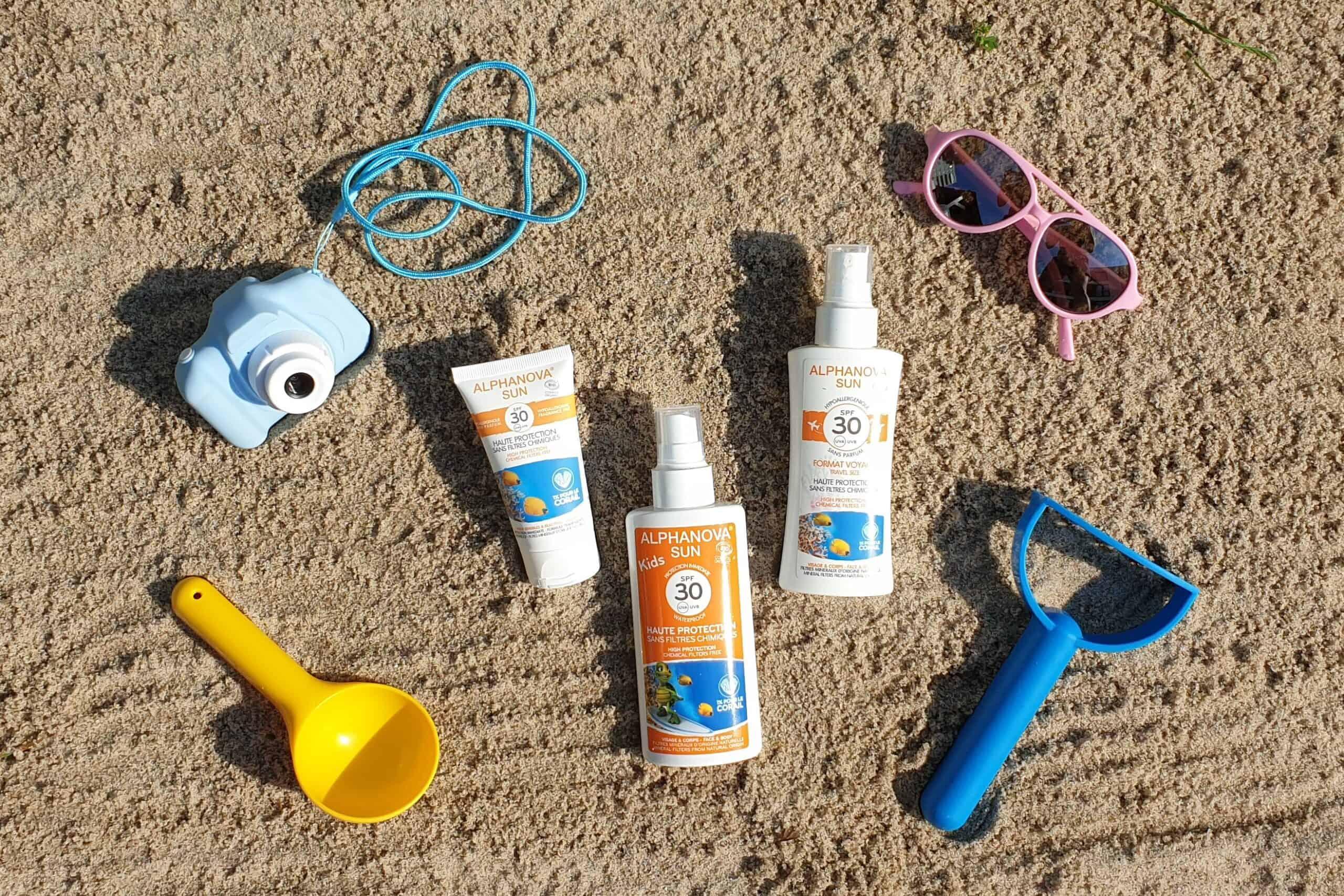 Matka Aptekarka testuje... kosmetyki przeciwsłoneczne dla dzieci idorosłych Alphanova Sun SPF 30, MAtestuje
