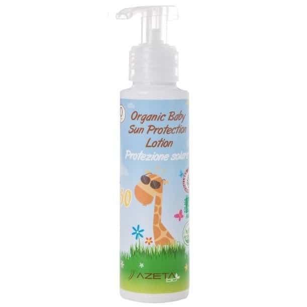 Azeta Bio Organic Sun Protection Lotion, mleczko przeciwsłoneczne SPF 50 Matka Aptekarka