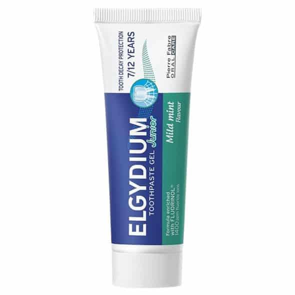 Elgydium Kids, pasta dozębów wpostaci żelu dla dzieci 7-12 lat, zfluorem, Matka Aptekarka