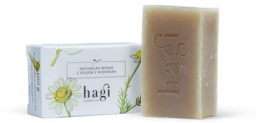 Hagi,naturalne mydło zolejem zwiesiołka, mydło wkostce, Matka Aptekarka