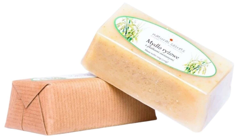 Natural Secrets, mydło ryżowe zpłatkami owsianymi, mydło wkostce, Matka Aptekarka