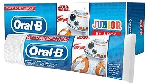 Oral-B Junior, Star Wars, pasta dozębów dla dzieci powyżej 6 lat, zfluorem, Matka Aptekarka