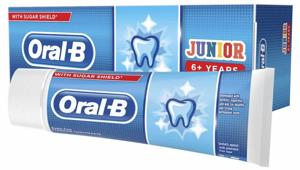 Oral-B Junior, pasta dozębów dla dzieci powyżej 6 lat, zfluorem, Matka Aptekarka