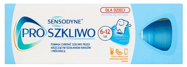 Sensodyne, Pro Szkliwo, pasta dozębów dla dzieci 6-12 lat, zfluorem, Matka Aptekarka
