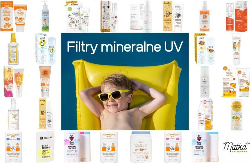 Zestawienie najlepszych kremów zmineralnym filtrem UV dla dzieci (icałej rodziny). Aktualizacja 2021, Matka Aptekarka