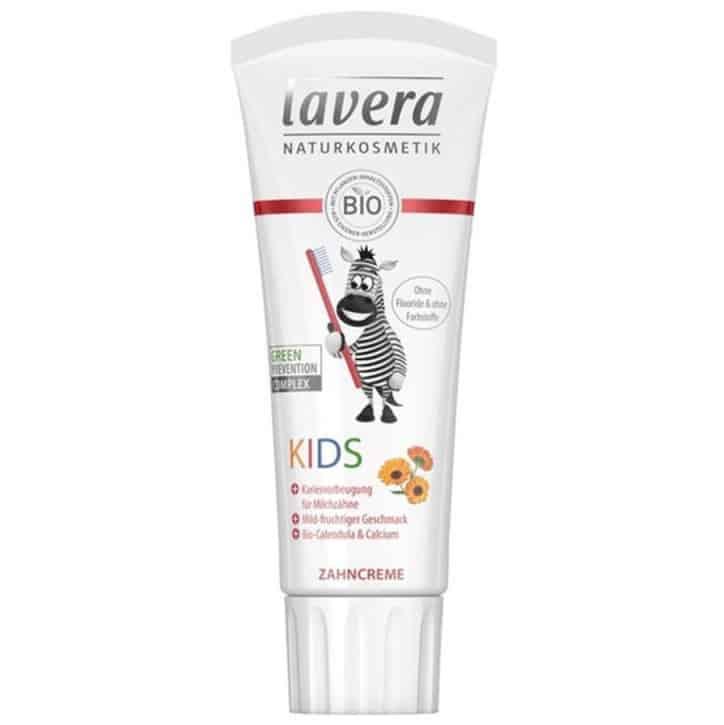 Lavera Kids, ekologiczna pasta dozębów bezfluoru dla dzieci, Matka Aptekarka