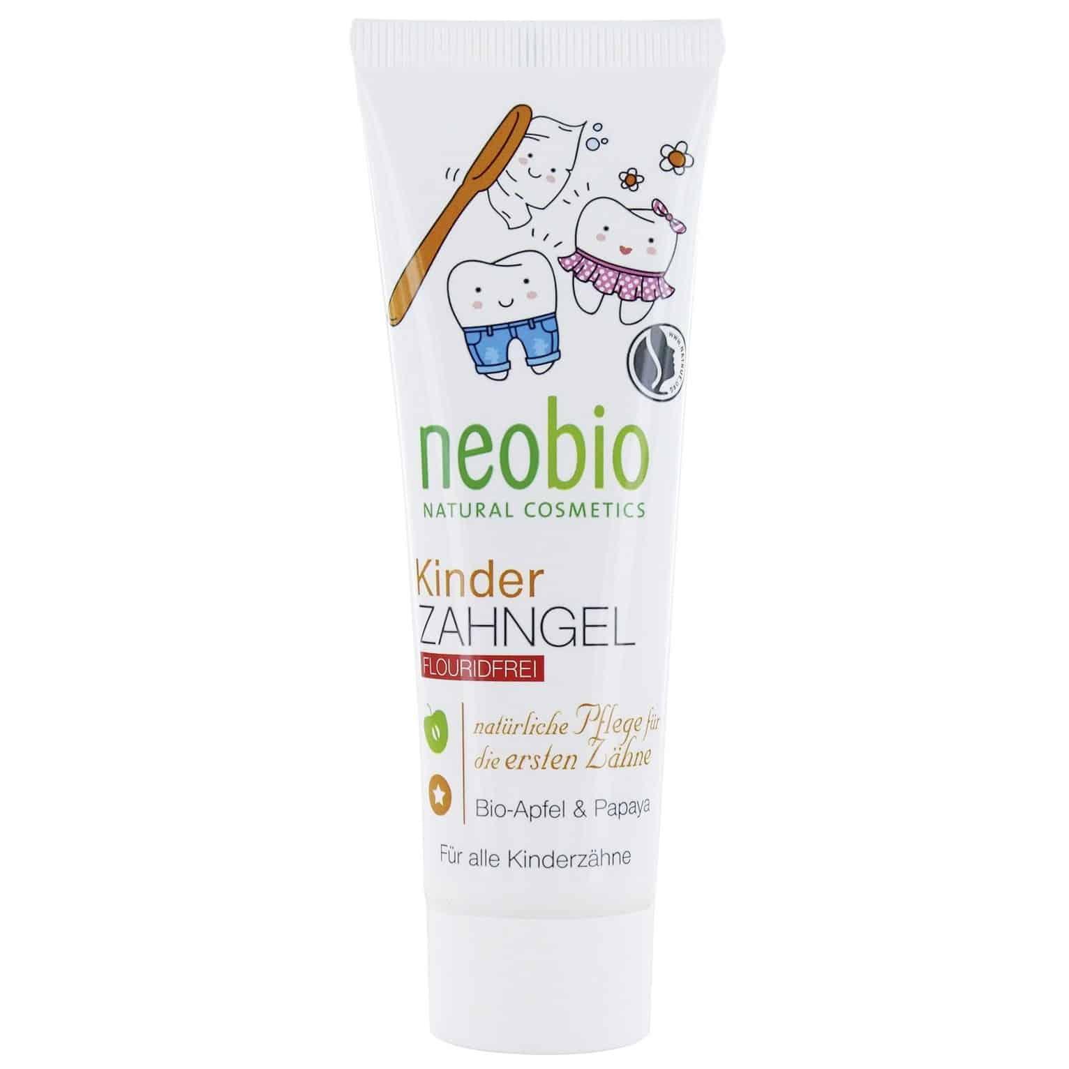 NeoBio, pasta-żel domycia zębów dla dzieci bezfluoru, Matka Aptekarka
