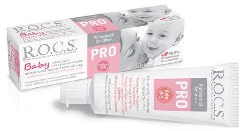 ROCS, Baby Pro, pasta dozębów dla dzieci 0-3 lat, Matka Aptekarka