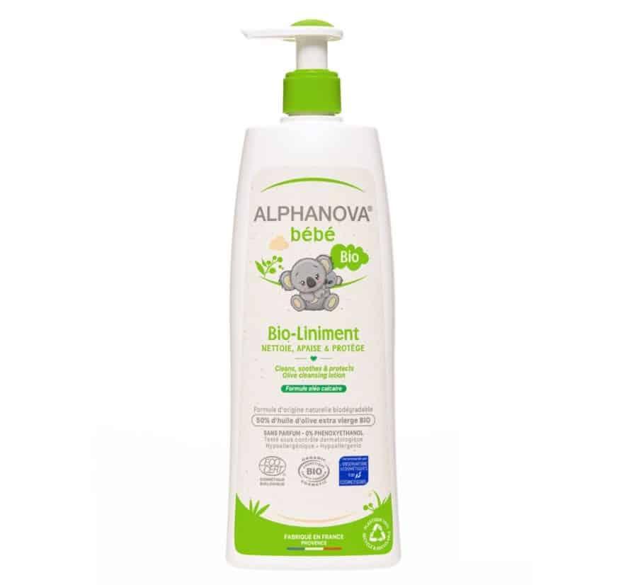 Alphanova Bebe, Organiczna oliwka zwodą wapienną BIO-Liniment, dobry skład, Matka Aptekarka