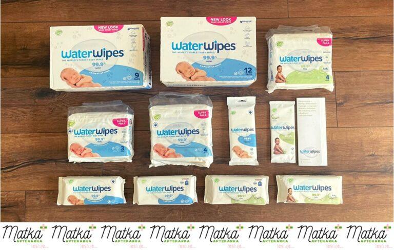 Matka Aptekarka testuje... Water Wipes, nowe, wodne, oryginalne i biodegradowalne chusteczki nawilżane, Matka Aptekarka